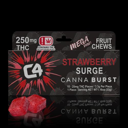 STRAWBERRY 250MG w - chews