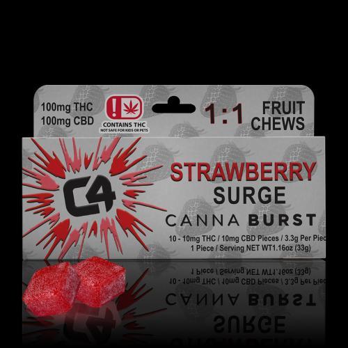 STRAWBERRY 1 TO 1 w - chews