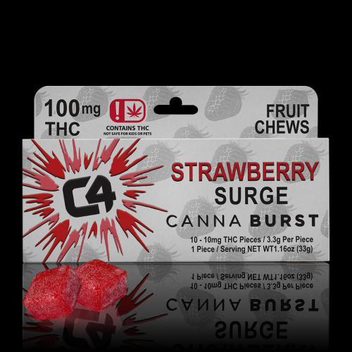 STRAWBERRY 100MG w - chews